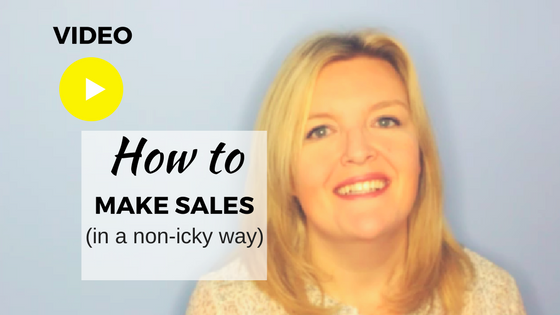 how to make sales