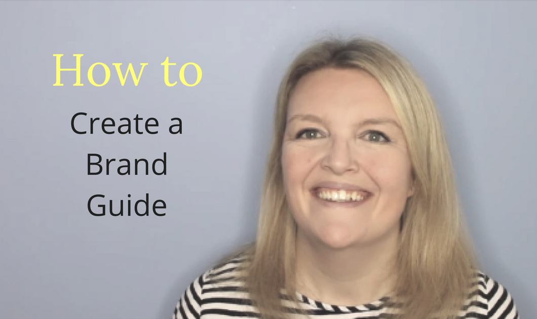 how to make a brand guide