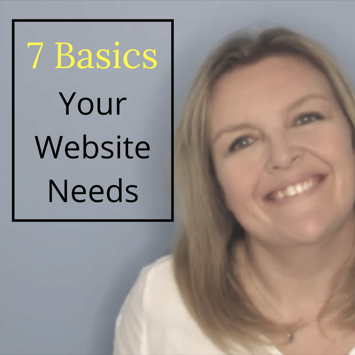 basics your website needs