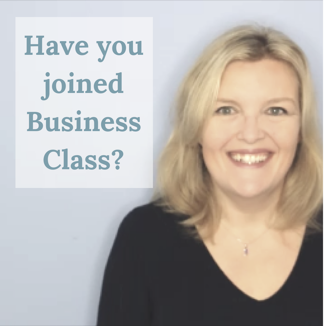 have you joined business class
