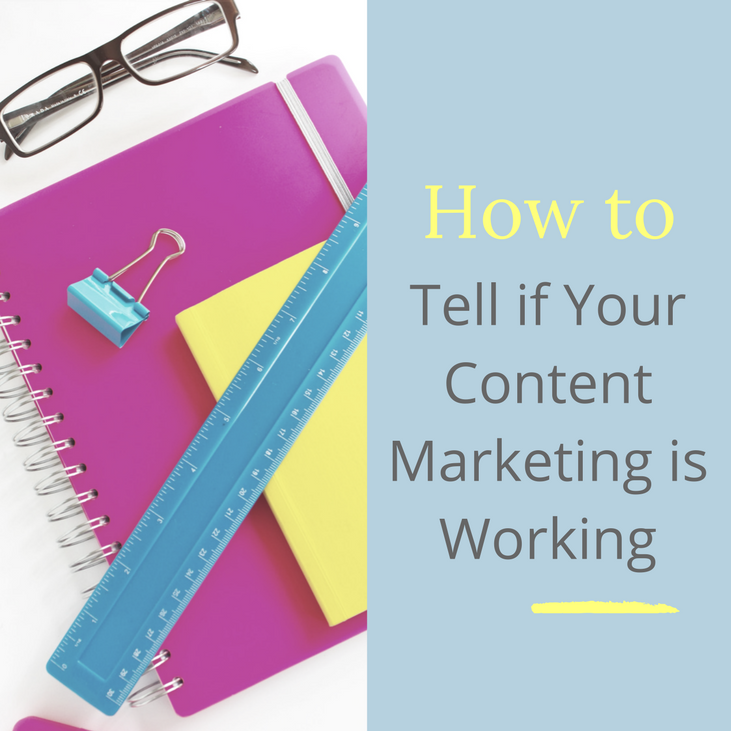 if your content marketing is working