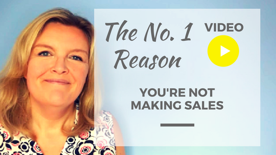 Not making sales